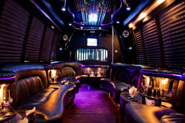 15 Person Party Bus Rental Sacramento