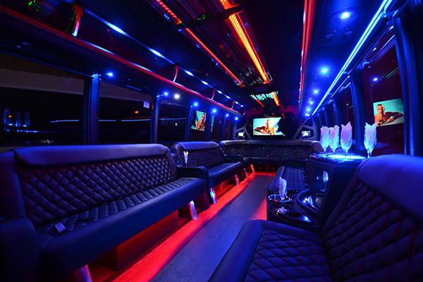 40 Person Party Bus Rental Sacramento